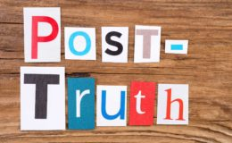 The era of post-truth, post-veracity and charlatanism